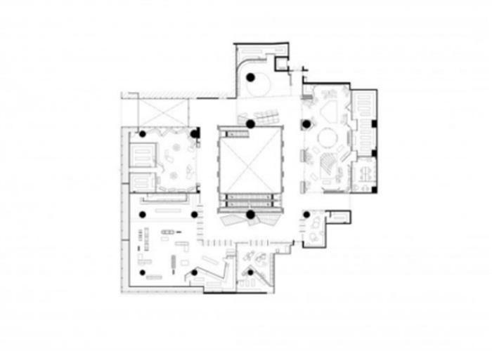 合肥展厅装修平面图