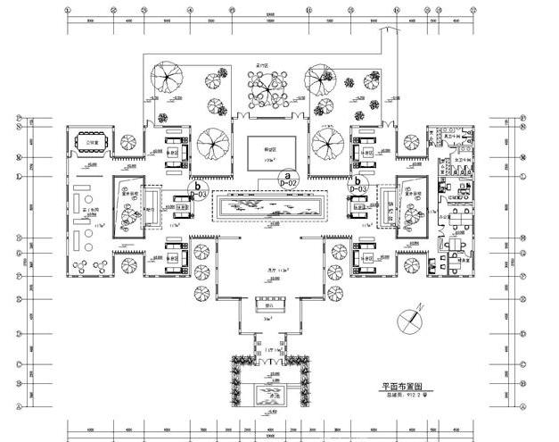 合肥售楼部装修平面图