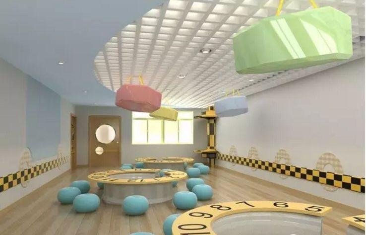 幼儿园装修走廊吊顶的8种创意及注意事项